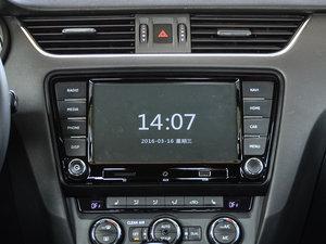 2017款280TSI 自动尊行版 中控台显示屏