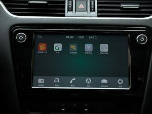 2018款280TSI 自动旗舰版 中控台显示屏