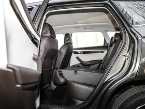 2018款TSI280 旗舰版 后排座椅放倒