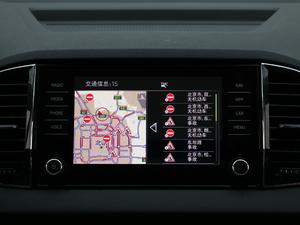 2018款TSI280 旗舰版 中控台显示屏