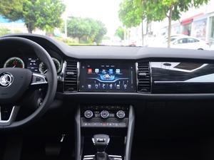 2018款TSI330 5座豪华优享版 中控台