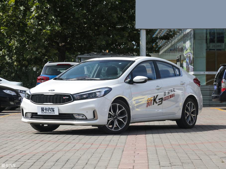起亚K3合肥市降价促销 购车优惠1.8万元