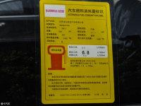 其它起亚KX3工信部油耗标示
