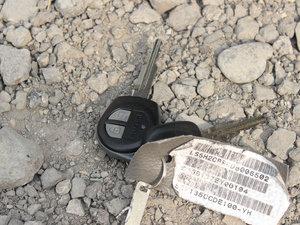 2012款1.3L 手动舒适版 钥匙