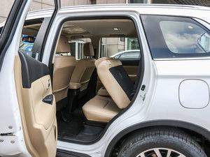 2016款2.4L 四驱7座尊贵版 后排座椅放倒