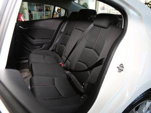 2017款三厢 1.5L 自动豪华型 后排座椅