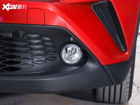 细节外观丰田C-HR雾灯