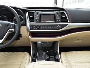 2015款3.5L 七座四驱精英版 中控台
