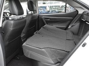 2017款改款 185T CVT领先版 后排座椅放倒