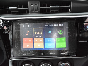 2017款改款 185T CVT领先版 中控台显示屏