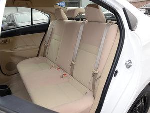 2017款1.5E CVT魅动版  后排座椅