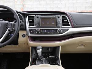 2017款2.0T 七座四驱豪华导航版 中控台