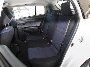 2017款1.5G CVT劲速天窗升级版 后排座椅