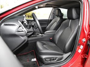 2018款2.5S 锋尚版 前排座椅