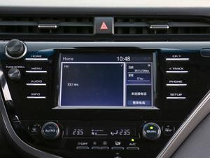 2018款2.5S 锋尚版 中控台显示屏