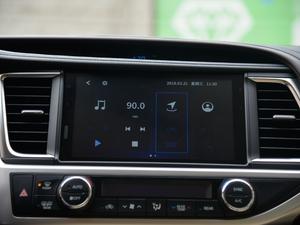 2018款2.0T 四驱至尊版 7座 中控台显示屏