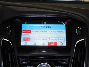 2017款EcoBoost 125 自动超能风尚型智行版 中控台显示屏