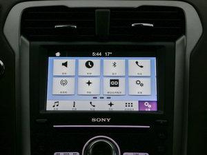 2017款2.0 HEV 智尊旗舰型 中控台显示屏