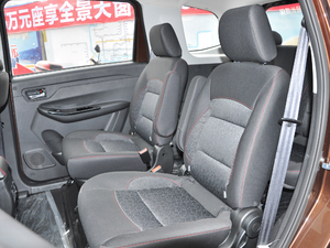 2018款1.5L 手动天窗型 后排座椅