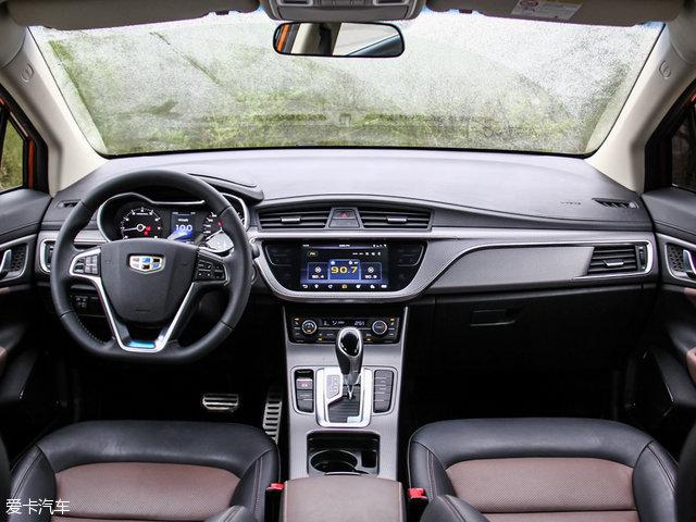 新车的内饰布局与之前上市的博越较为接近.帝豪GS全系车型标配一高清图片