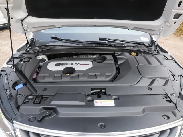 吉利帝豪GL:1.8L直列四缸自然吸气发动机,最大功率98kW(133Ps),高清图片
