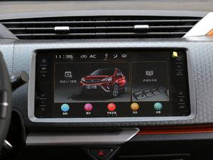 2017款1.3L 自动玩家版 中控台显示屏