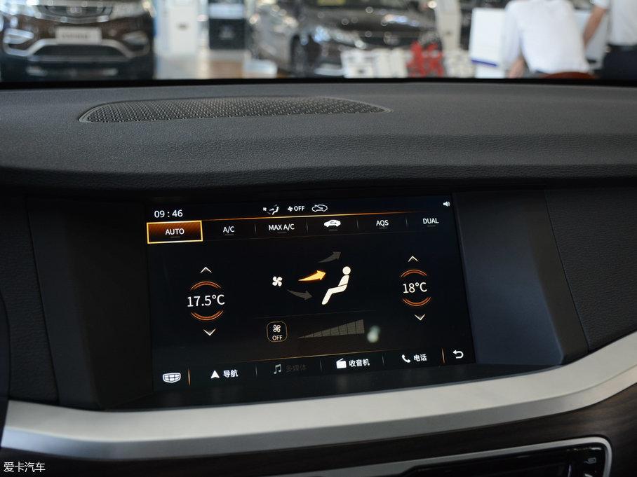 爱卡首页 汽车图片 吉利 博瑞 2017款1.8t 自动尊贵型  2018款博瑞 1.图片