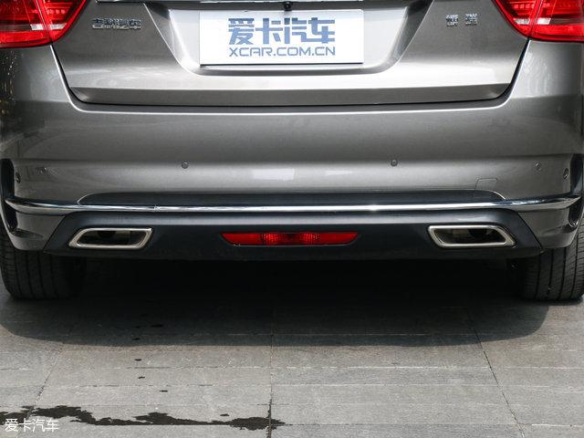 吉利汽车2017款博瑞