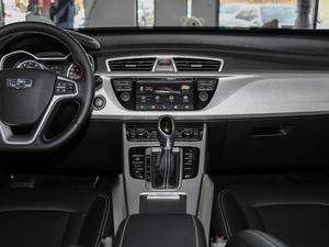 2018款1.8TD 自动两驱智雅型 中控台