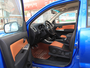 2017款2.4L 汽油两驱至尊版 前排空间