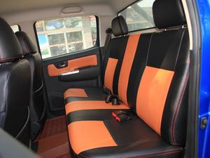 2017款2.4L 汽油两驱至尊版 后排座椅