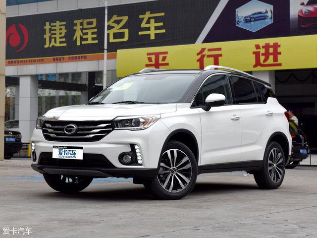 广汽乘用车2016款传祺GS4