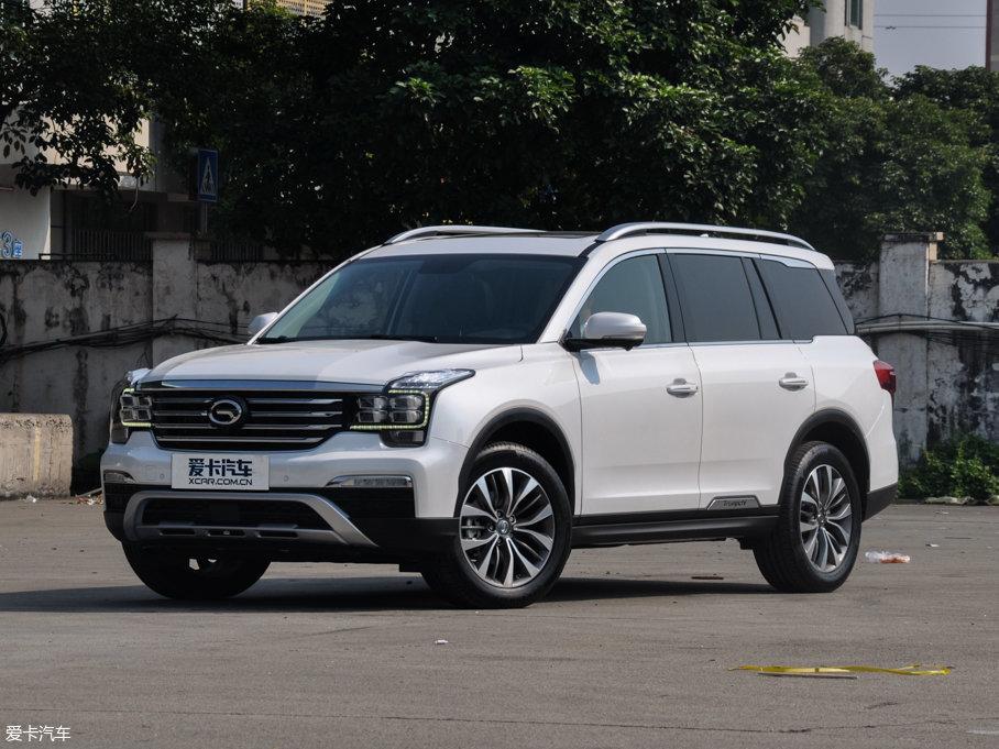 传祺GS8售价低至16.38万 欢迎试驾
