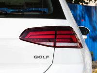 细节外观高尔夫尾灯