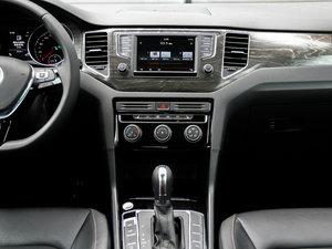 2016款280TSI 自动豪华型 中控台
