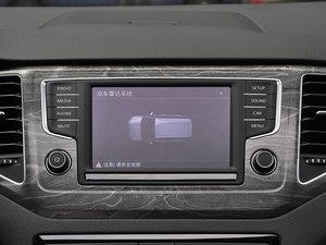 2016款280TSI 自动豪华型 中控台显示屏