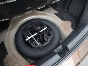 2017款1.6L 自动舒适型 备胎