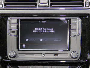 2018款280TSI DSG豪华型 中控台显示屏