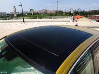 细节外观大众CC车顶
