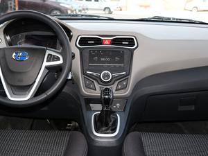 2018款1.4L 手动舒适版 中控台