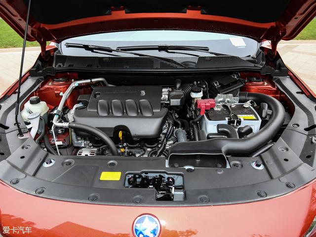 东风日产启辰T90全系车型搭载了一款代号为MR20的2.0L直列四缸发动高清图片