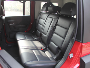 2018款L 2.0T 手动尊贵版 柴油 后排座椅
