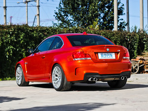 2011款1-Series M Coupe 后侧45度