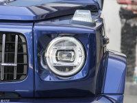 细节外观奔驰G级AMG头灯