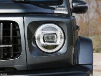 細節外觀奔馳G級AMG頭燈