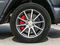 細節外觀奔馳G級AMG輪胎