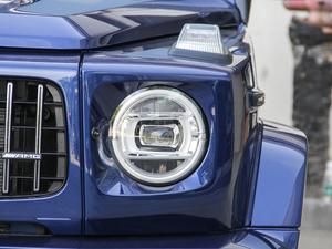 2018款AMG G 63 头灯