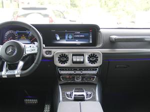 2018款AMG G 63 中控台