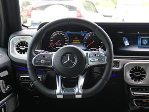 2018款AMG G 63 方向盘