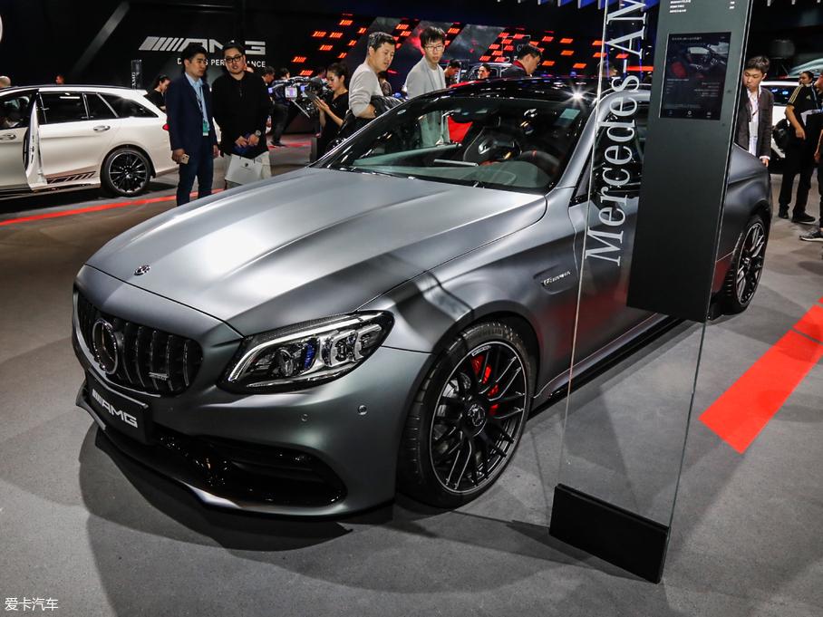 2019款奔驰C级AMG AMG C 63 S 轿跑车